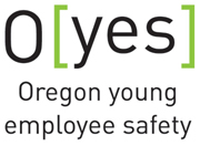 Oregon young employee safety logo