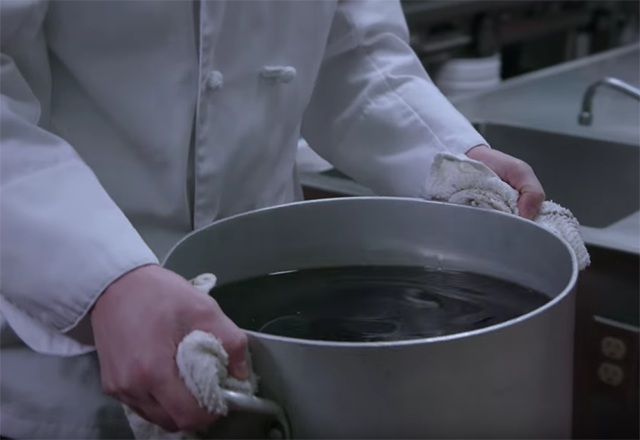 Click to play the video for Worksafe BC, Matthew Bowcott - young food service worker