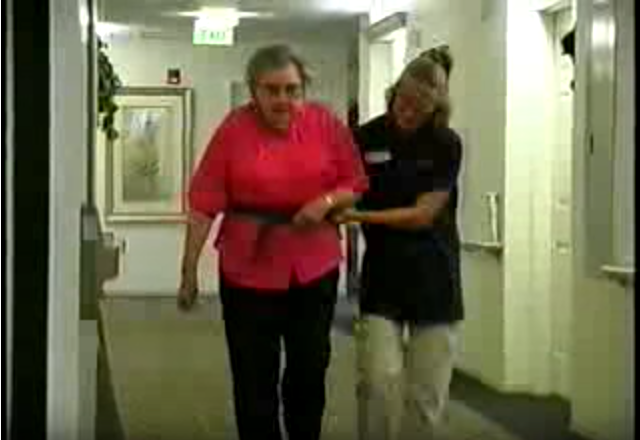 Click to play the video for Easy Ergonomics for Caregivers, Part 1