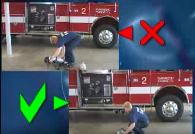 Click to play the video for Firefighter and EMS Ergonomics, part 2