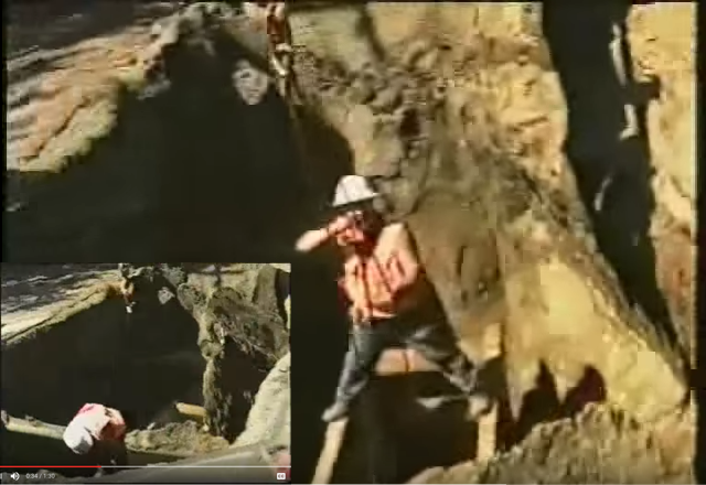 Click to play the video for Trench cave in