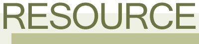 Resource Newsletter Logo